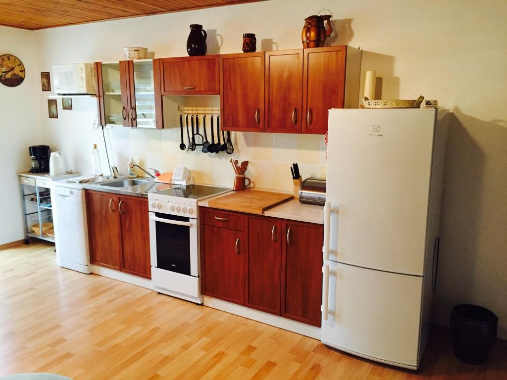 Obývací místnost/kuchyň Wohnraum/Küche